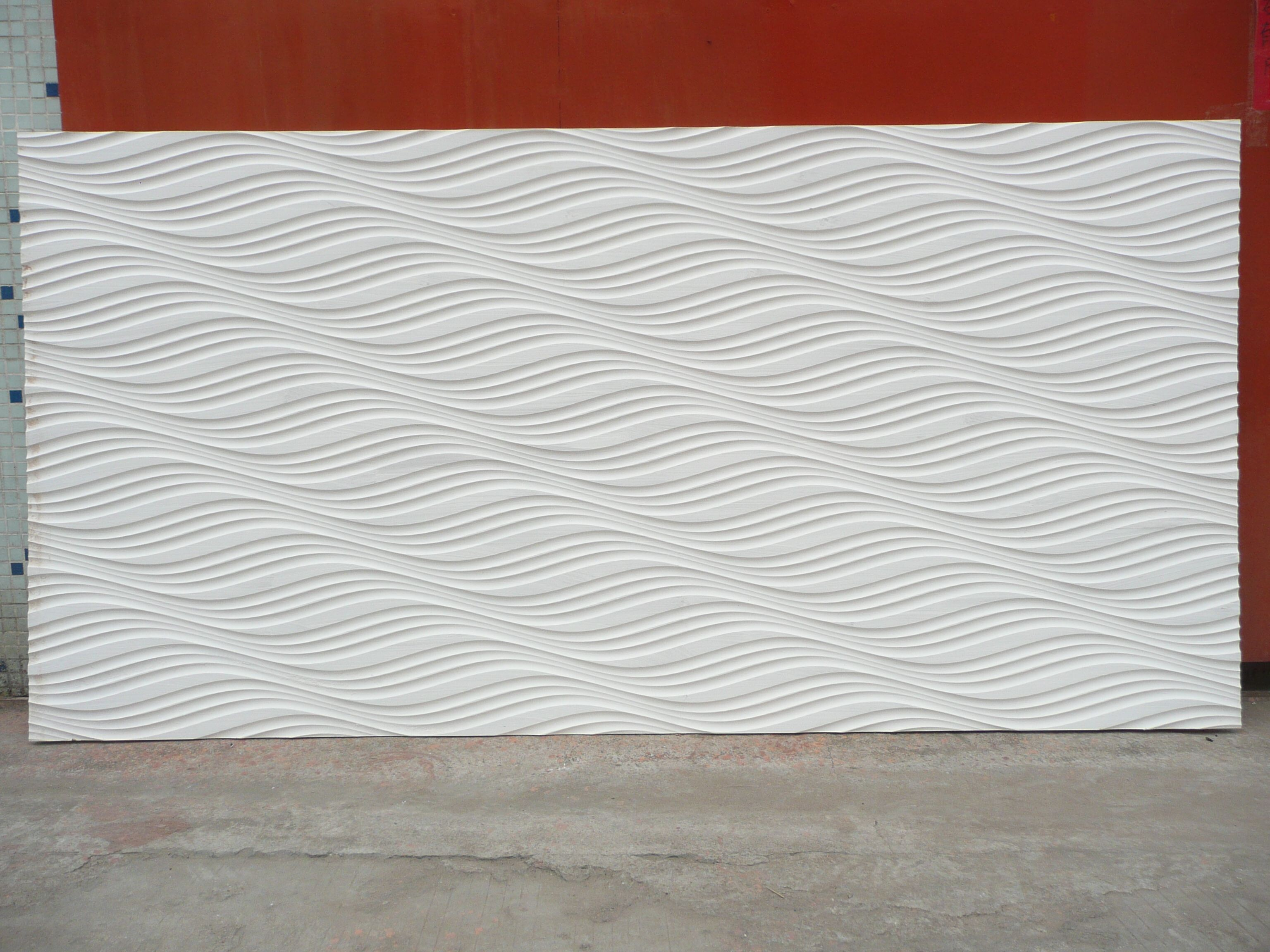 MDF Wave Panels For Wall Textures Panels3D