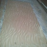 MDF wave panels for wall